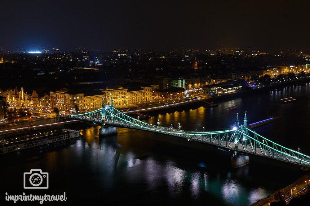 Städtereise nach Budapest Sehenswürdigkeiten Freiheitsbrücke