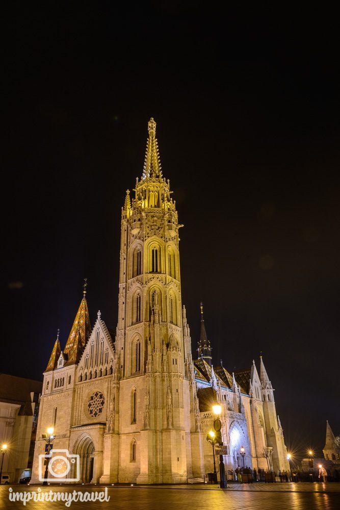 Städtereise nach Budapest Sehenswürdigkeiten Matthiaskirche