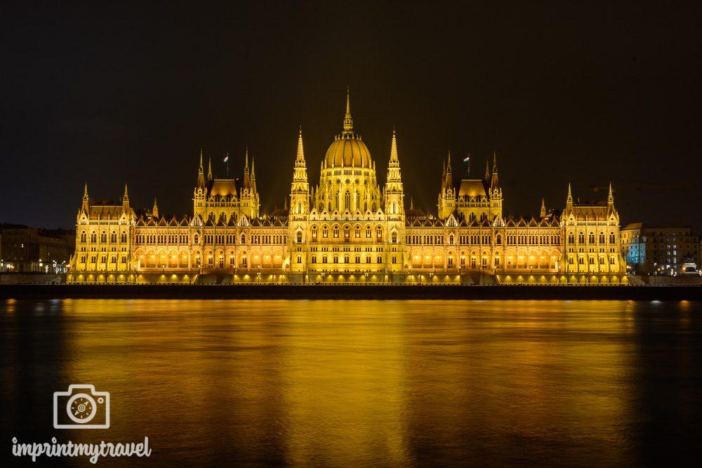 Städtereise Budapest Parlament