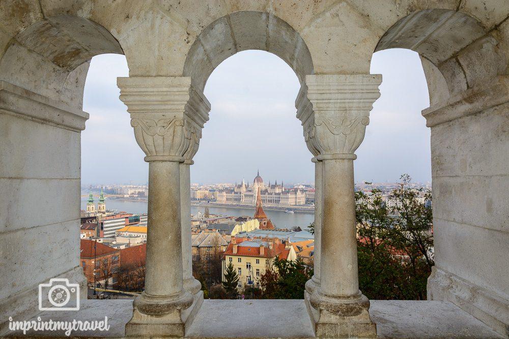 Städtereise nach Budapest Ausblick Fischerbastei