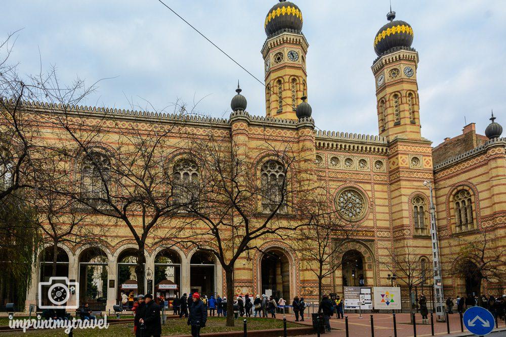 Städtereise Budapest Sehenswürdigkeiten Große Synagoge