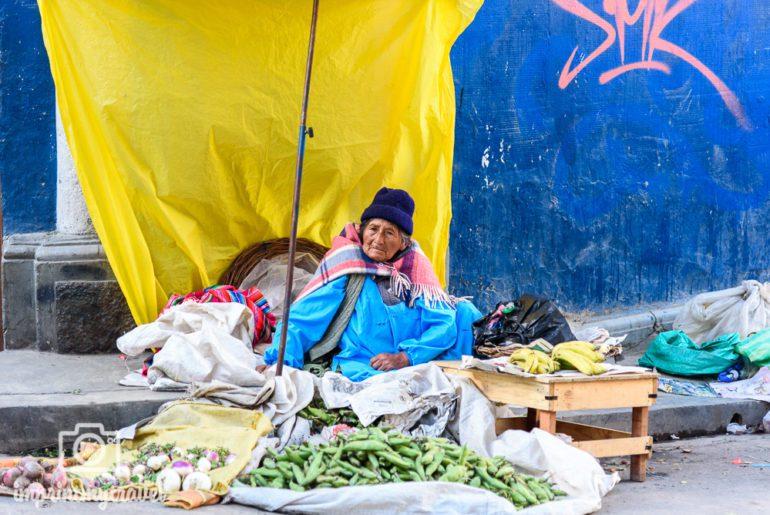 Bolivien Reise La Paz Markt