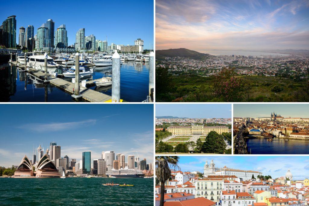 Die schoensten Städte der Welt Titel
