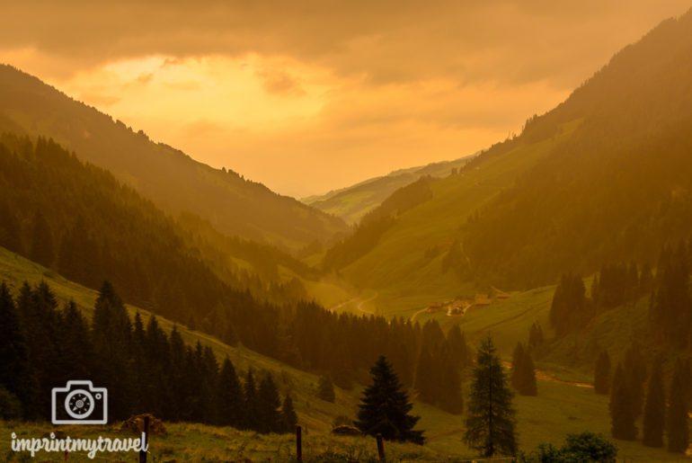 Landschaftsfotografie Tipps Goldene Stunde