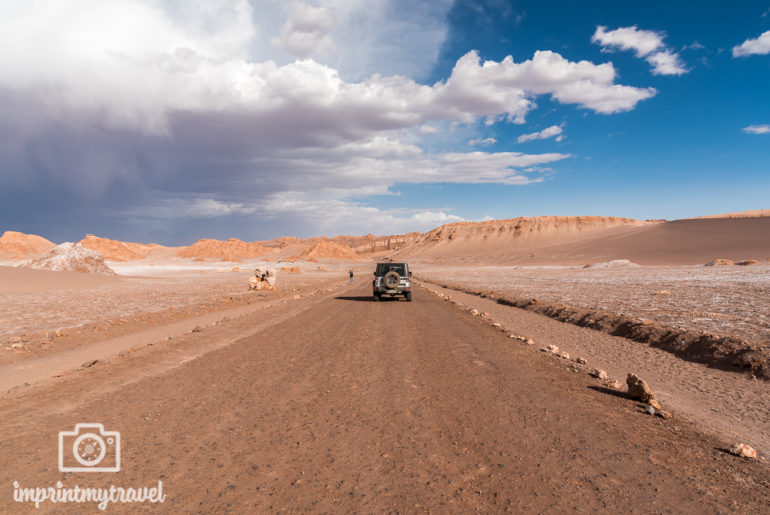 Atacama Wüste Wolken