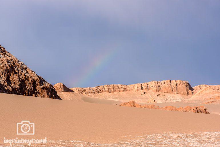 Atacama Sehenswürdigkeiten Regenbogen
