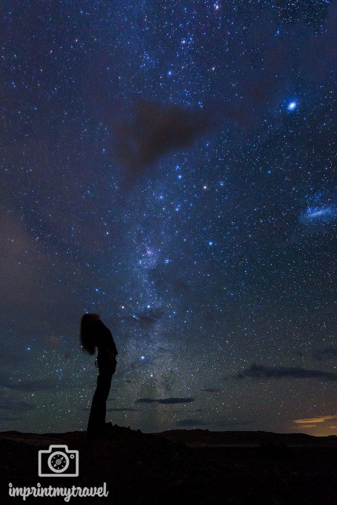 Atacama Sehenswürdigkeiten Sternenhimmel
