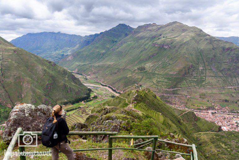 Peru Sehenswürdigkeiten Pisac Aussicht