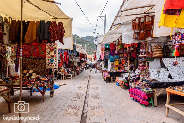 Peru Sehenswürdigkeiten Pisac Markt