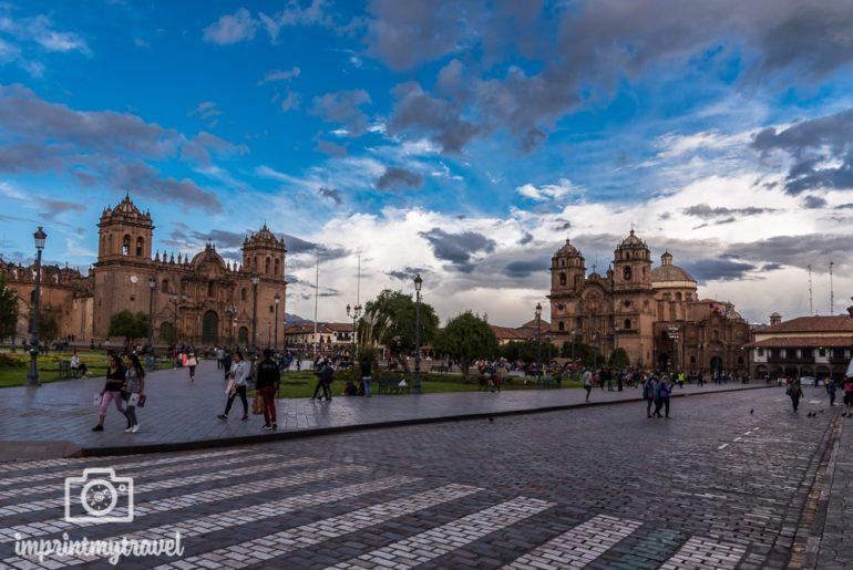 Cusco Sehenswürdigkeiten Plaza de Armas