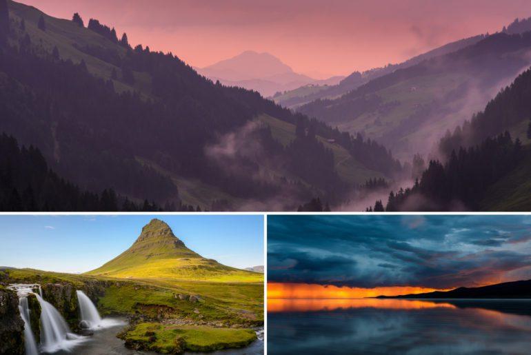 Landschaftsfotografie Tipps Titel