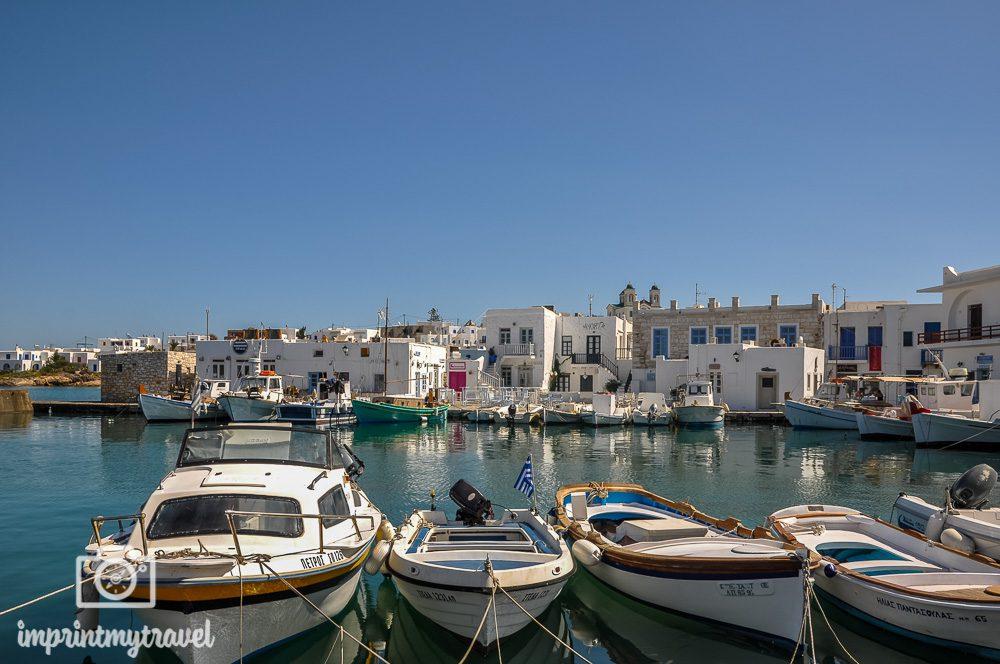 Die 5 schoensten griechischen Inseln Paros Naoussa