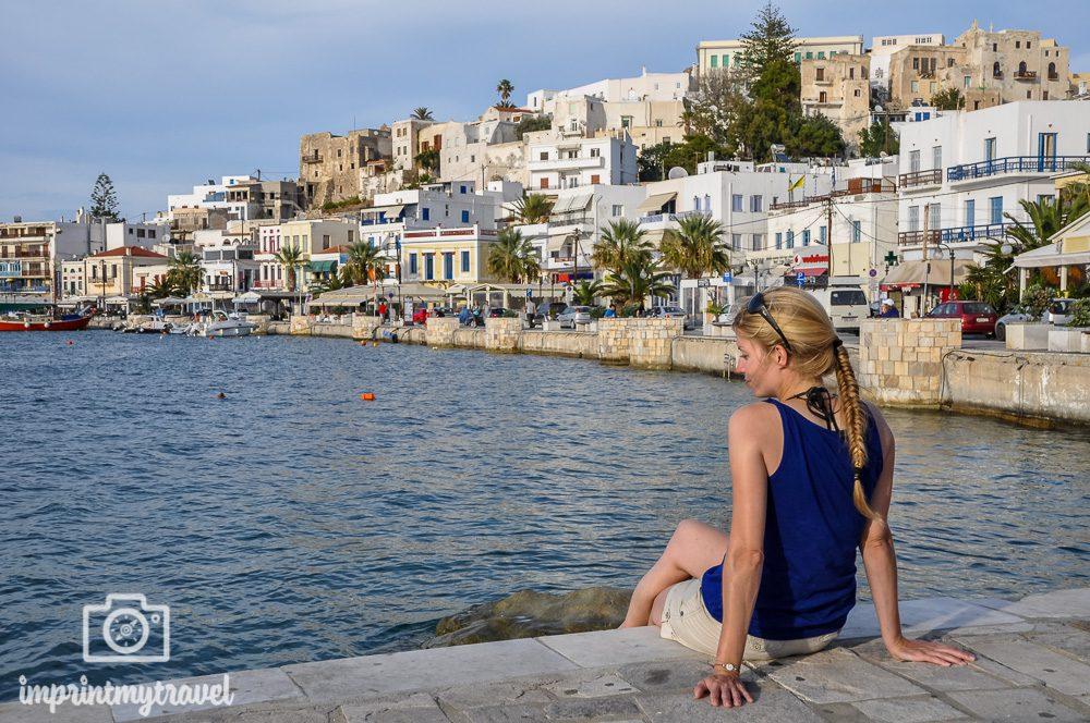 Die schoensten griechischen Inseln Naxos Stadt