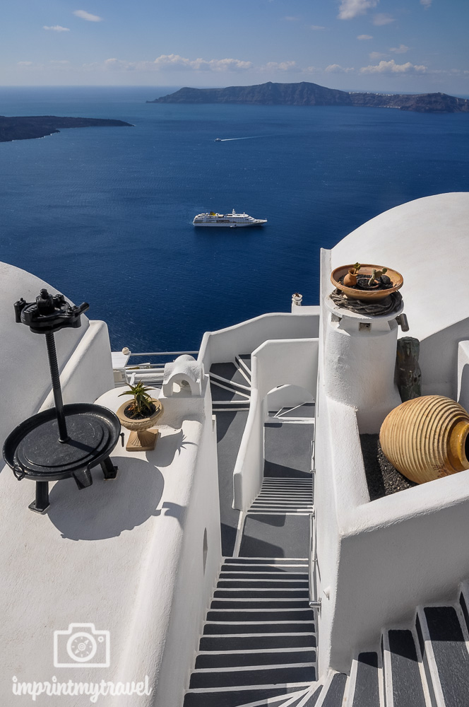 Die 5 schoensten griechischen Inseln Santorin Kraterwanderung