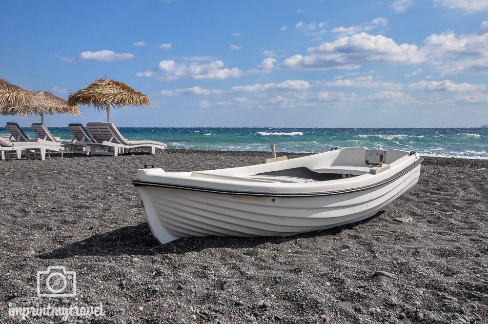 Die 5 schoensten griechischen Inseln Santorin Kamari