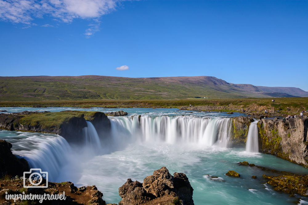 Fotolocations in Island Godafoss