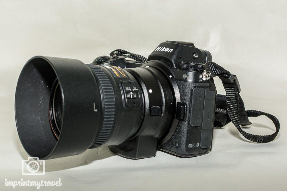 Nikon Z6 Test Adapter