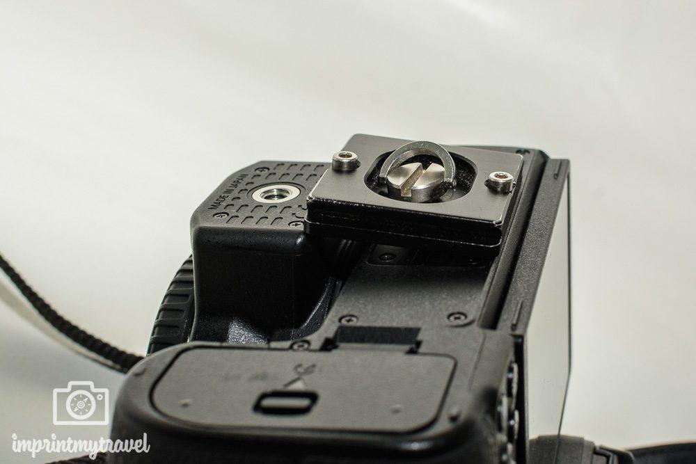 Nikon Z6 Test Stativplatte