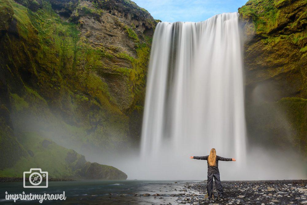 Die besten Fotospots in Island Skogafoss