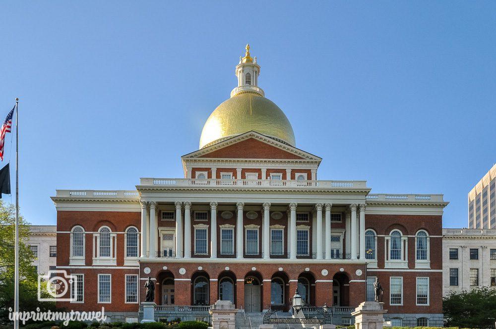 Boston Sehenswürdigkeiten Massachusetts State House