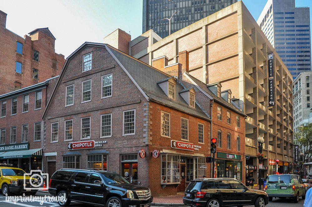 Old Corner Bookstore Boston