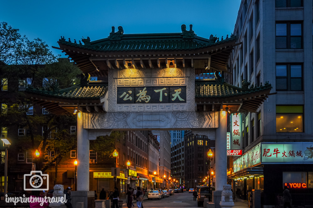 Boston China Town Gate