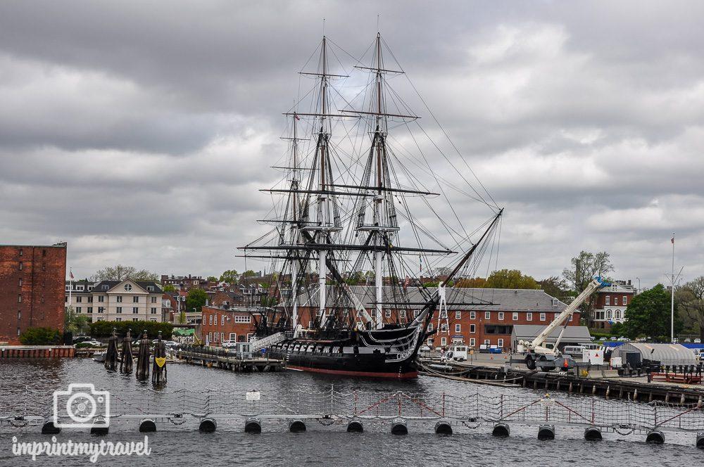 Boston Sehenswürdigkeiten USS Constitution