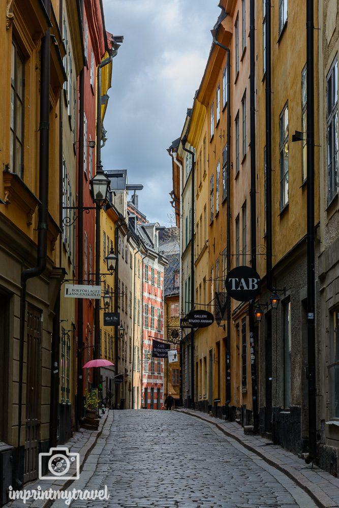 Stockholm Sehenswürdigkeiten Gamla Stan