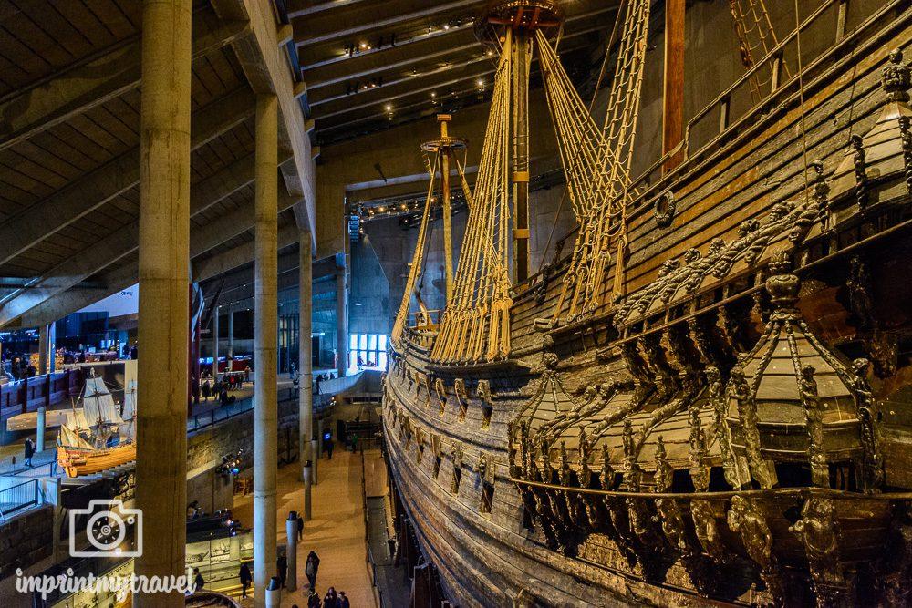 Stockholm Sehenswürdigkeiten Vasa Museum