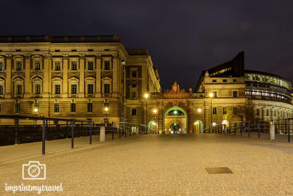 Stockholm Sehenswürdigkeiten Reichstag