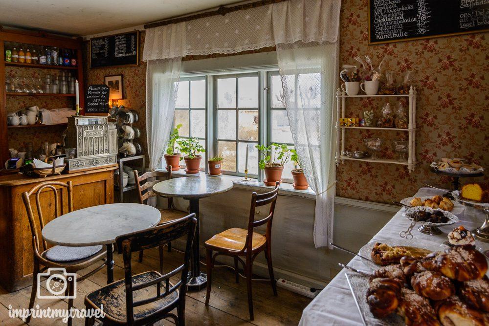 Skansen Freilichtmuseum Café Petissan