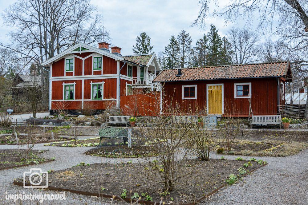 Stockholm Sehenswürdigkeit Skansen Freilichtmuseum