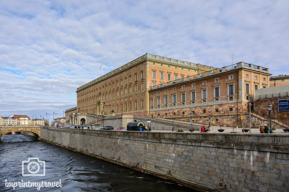 Stockholm Attraktionen königliches Schloss