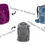 Handgepäck Rucksack: Meine Empfehlungen für jedes Bedürfnis