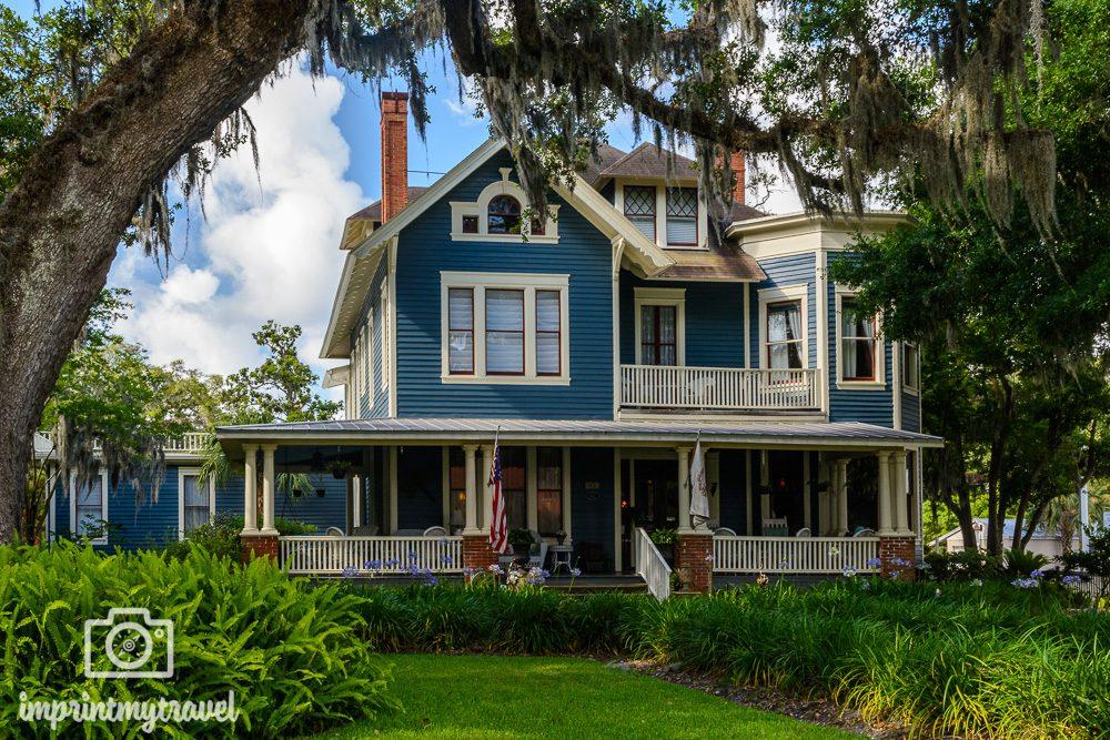 Amelia Island Florida Südstaaten Flair