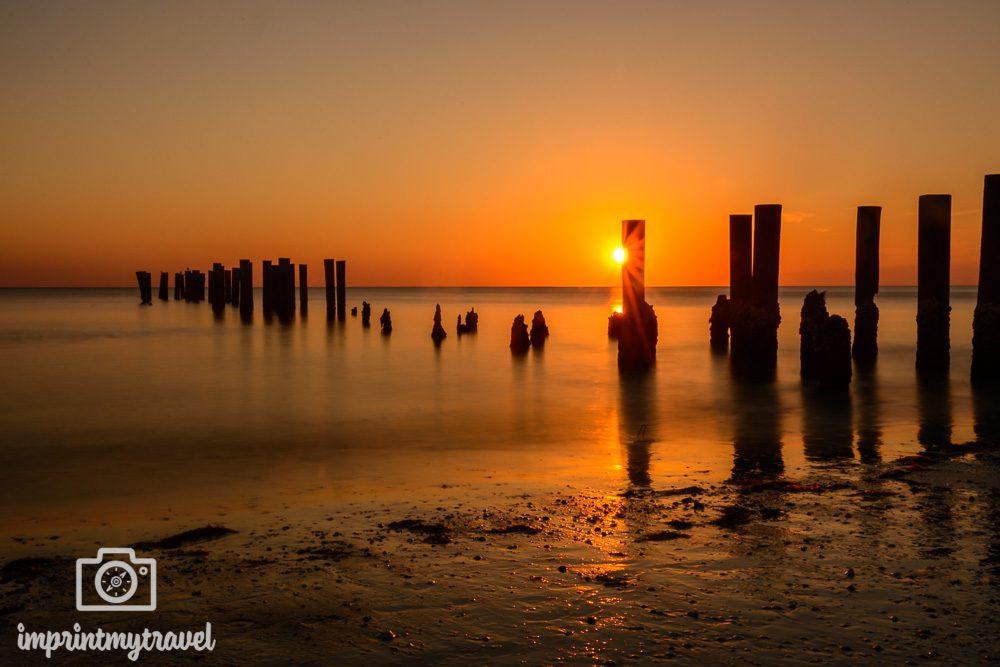 Die Sonnenuntergänge in Naples stehen denen in Key West um nichts nach!