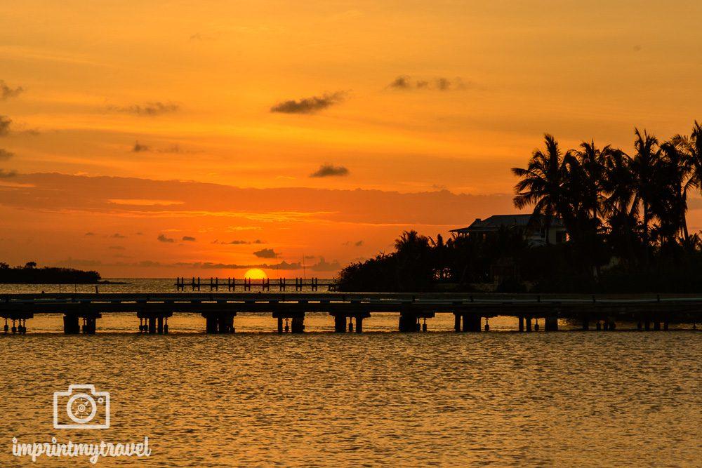 Florida Rundreise Sonnenuntergang