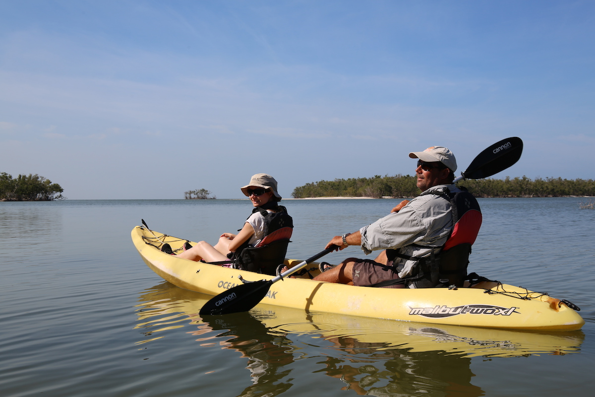 Boat Assisted Kayak Tour Ten Thousand Islands