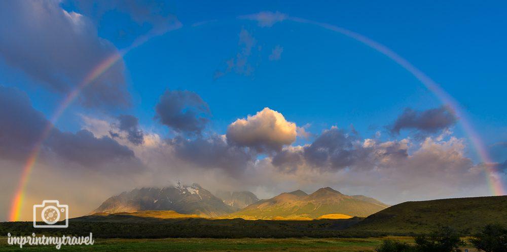 Regenbogen fotografieren