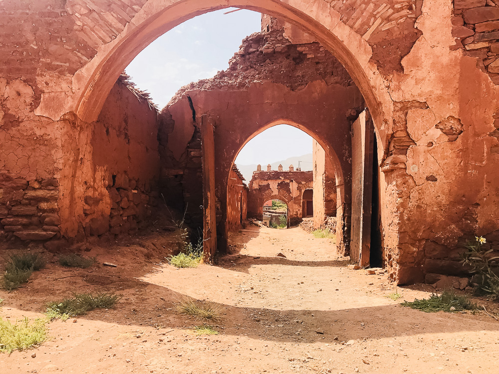 Kasbah de Telouet Marokko