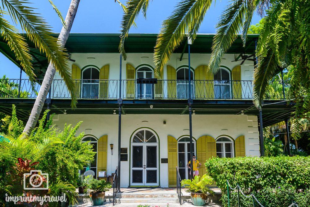 Key west Attraktionen Hemingway Haus