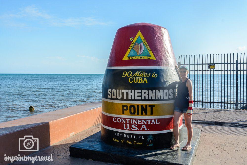 Key West Sehenswürdigkeiten Southern Most Point