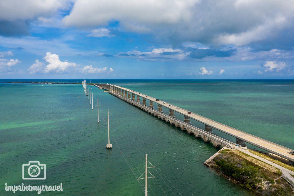 Fahrt Miami Key West Brücken