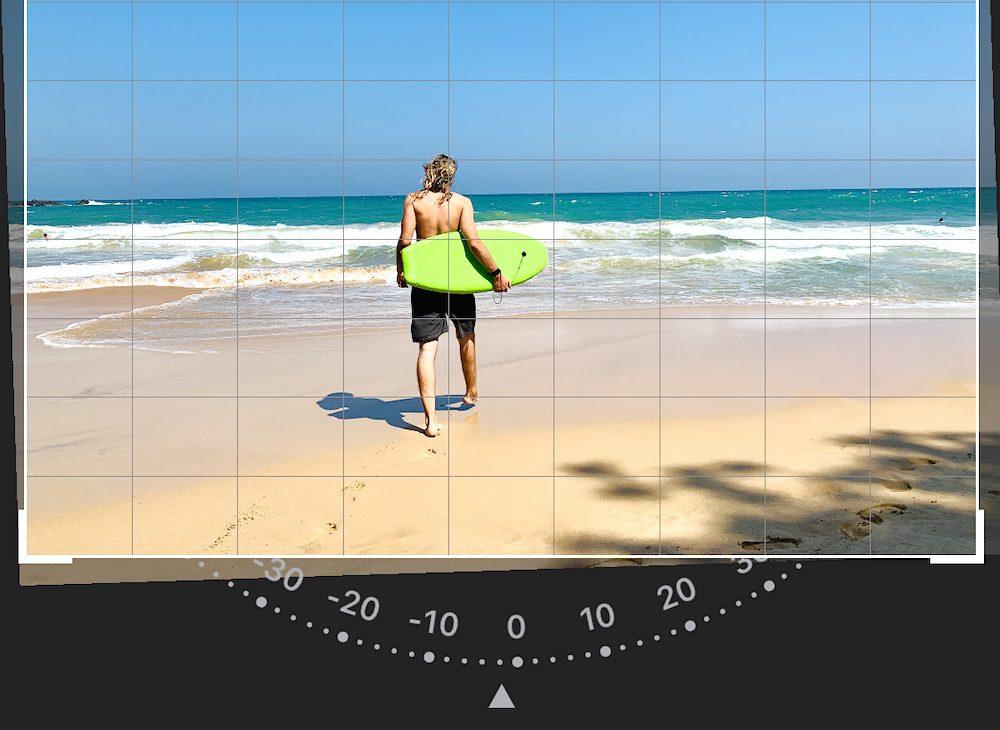 Smartphone Fotografie Tipps gerader Horizont