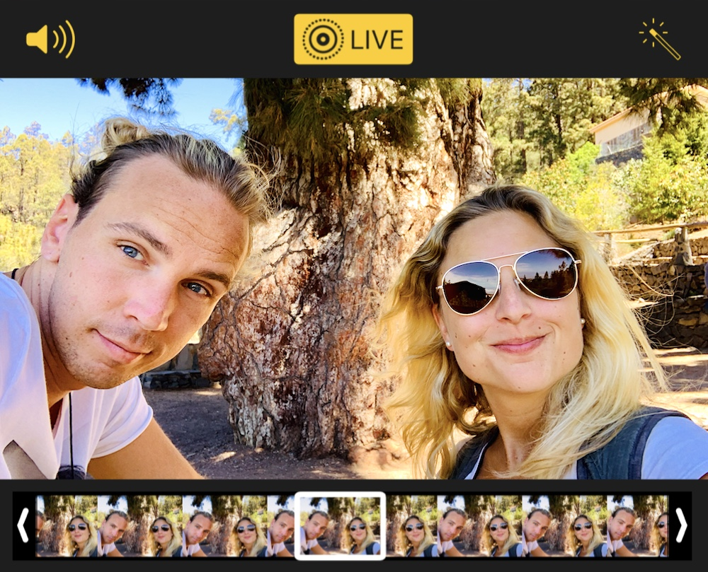 Smartphone Fotografie Live-Modus