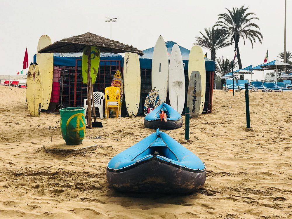 Marokko Strand von Agadir