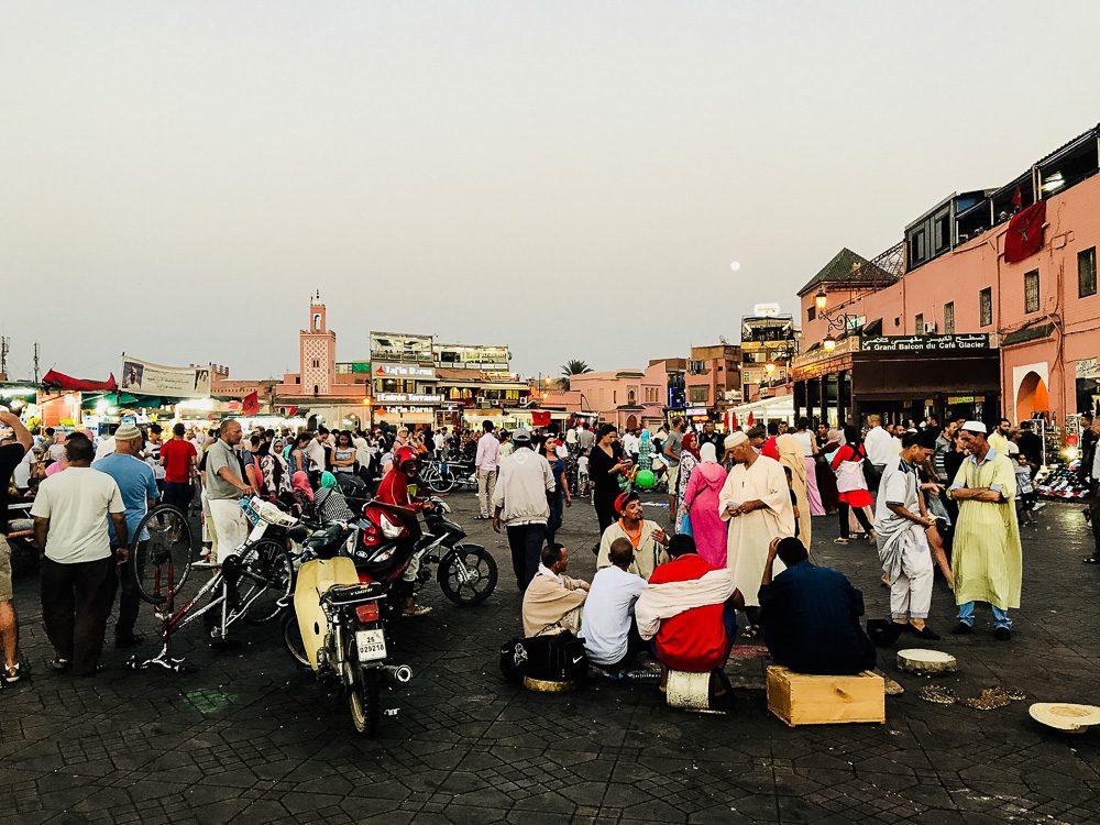 Djemaa el fna Marrakech, Marokko