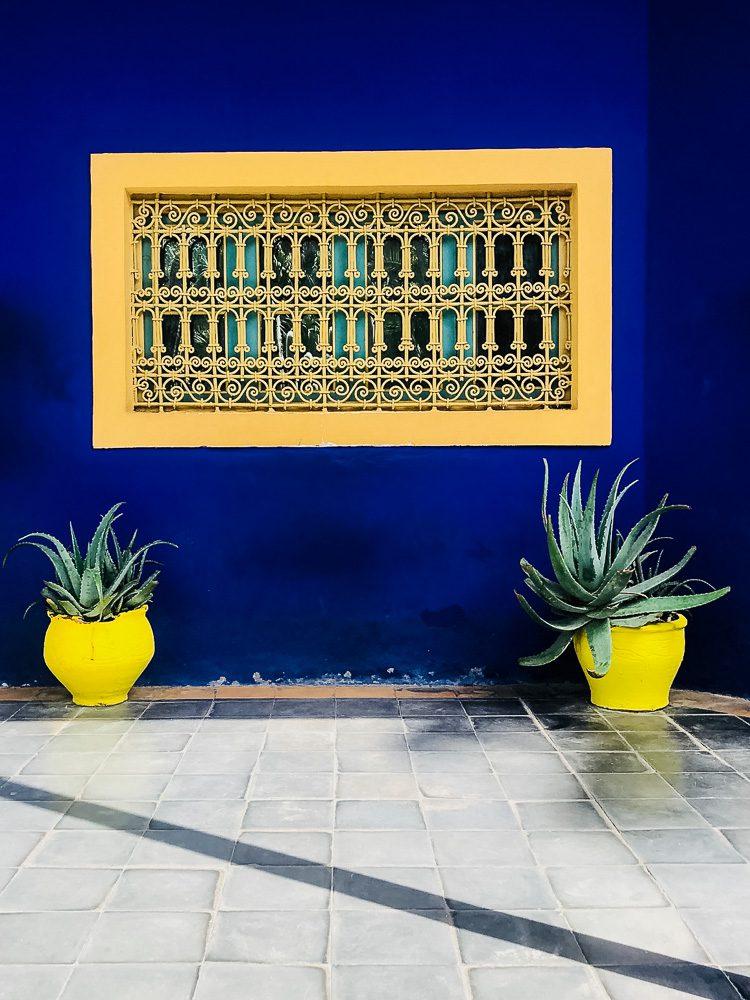Marokko für Anfänger Jardin Majorelle