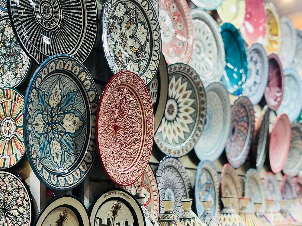 Marrakech Sehenswürdigkeiten Souk