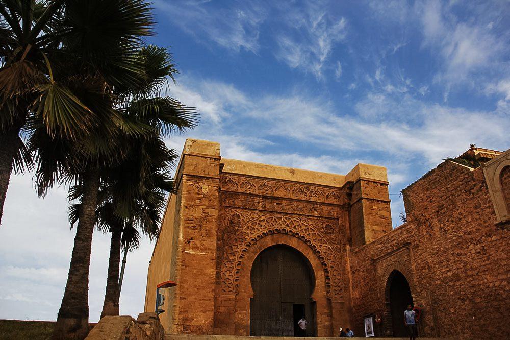 Marokko Rabat Kasbah Oudaya